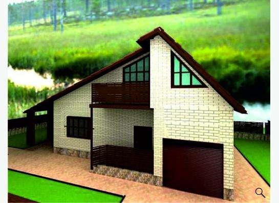 Готовый проект дома 1-13