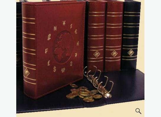 Альбомы для монет, банкнот, значков.