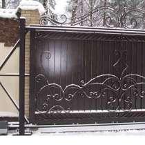 Заборы из профнастила, ворота откатные, штакетник, в г.Лида