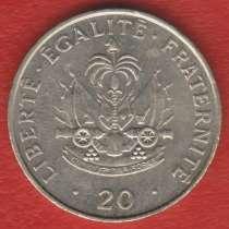 Гаити 20 сантимов 1991 г. Ллантризант, в Орле