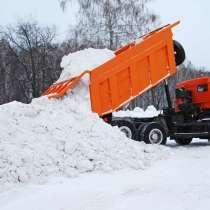 Уборка и вывоз снега самосвалами, в Нижнем Новгороде