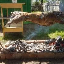Разборный вертел для жарки барана, в Истре