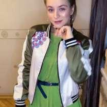 Бомбер куртка летняя maje, в Москве