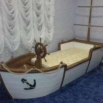 Кровать-Корабль StolyarAtelier, в Краснодаре