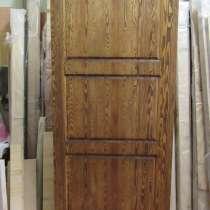 Двери Пионер. Массив лиственницы. Входная деревянная дверь, в Москве