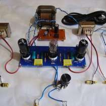 Готовый стереофонический усилитель на 6н9с - 6п6с, в Луховицах