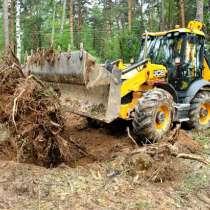 Расчистка участка, корчевание под строительство, в Нижнем Новгороде