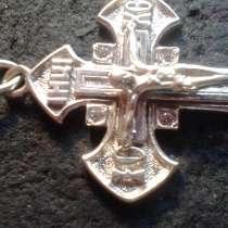 Крест, серебро 925 пробы, в Москве