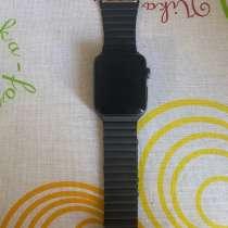 Apple Watch Series 3 + ремешок кожаный оригинальный, в Лиски