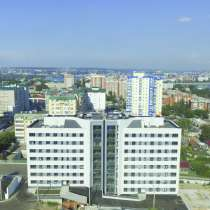 2-комнатная квартира евростандарт с кухней гостиной 40 кв. м, в Иркутске
