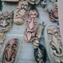Сувениты! Деревянные маски, в г.Вильнюс