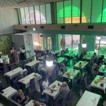 Срочно продается действующий бизнес. 2 этажное большое кафе, в г.Бишкек