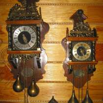 Старинные настенные голландские часы с боем, в г.Брест