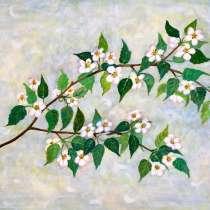 Картина Цветущая ветвь, в Тюмени