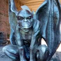 Горгулья на отдыхе - скульптура, в Краснодаре