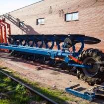 Полунавесной оборотный плуг Overum DVL 81080 F XL (Швеция), в Армавире