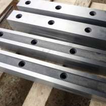 Для гильотинных ножниц Н3118 ножи 590 60 16мм в наличии на з, в Череповце