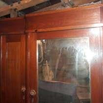 Антиквариат Шкаф раритет с зеркалом, СССР, в Новосибирске