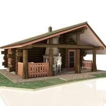 Проектирование деревянного дома, бани или сруба, в Уфе