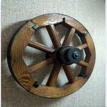 Декоративное деревянное колесо от телеги, в Ульяновске