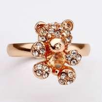 Кольцо (покрытие - розовое золото), в Перми