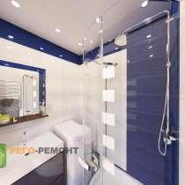 Ремонт ванных комнат под ключ, в Омске