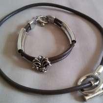 Комплект: браслет и колье, в Новосибирске