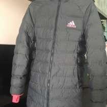 Зимний, оригинальный пуховик Adidas, в Долгопрудном