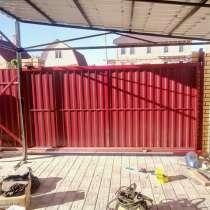 Ворота откатывающиеся, в Калуге
