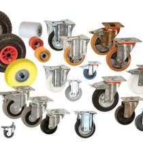 Промышленные колеса: мебельные, для тележек, тачек и т. д, в Перми