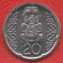 Новая Зеландия 20 центов 2008 г. Ллантризант, в Орле