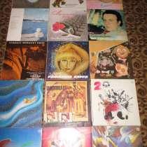 Виниловые диски 80-х 90-х СССР - Мелодия, в Москве