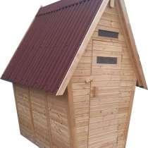 Туалет с хоз. блоком (мод.1310), без покрытия, в Сургуте