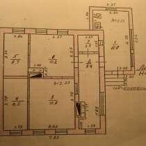 Продаю дом 57 кв. м на участке 6соток, газ, отопление котел, в Красном Сулине