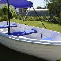 Новая лодка гребная стеклопластиковая для рыбалки, в Старом Осколе