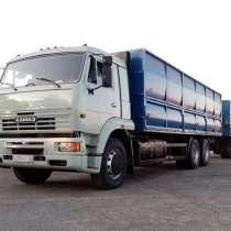 Тягач Зерновоз КамАЗ 6511 + Прицеп МАЗ, в Ставрополе