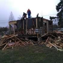 Снос и демонтаж построек, в Кингисеппе