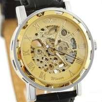 Механические часы - WINNER Skeleton Simple Golden - Новые !, в г.Черкассы