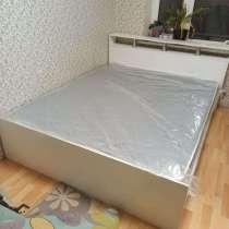 Кровать 1,4 м с матрасом, в Краснодаре