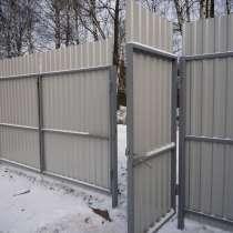 Ворота распашные с калиткой под ключ 3 на 2 метра, в г.Лондон