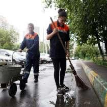 Уборка мусора, дворники, в Москве