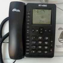Телефон проводной Ritmix RT-490 (аон), в Белгороде