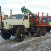грузовой автомобиль УРАЛ 43204 лесовоз, в Томске