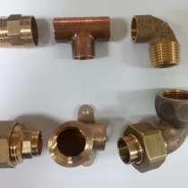 Медные трубы и фитинги для отопления 15, 18, 22, 28 мм, в Краснодаре