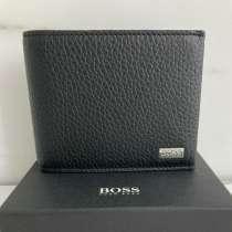 Кожаный кошелёк Hugo Boss, в Москве