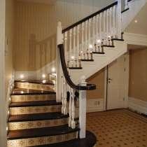 Лестница второго этажа, в Краснодаре