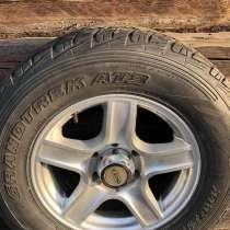 4 диска от Прадо 120 Тойота с летней резиной Dunlop 265/65 r, в г.Минск