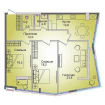 Продается 3 комн квартира. 93.4, в г.Алматы