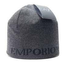 Шапка мужская Emporio Armani серый, в Москве