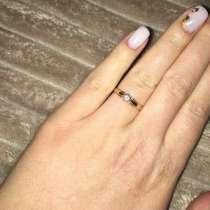 Кольцо с бриллиантом, в Москве